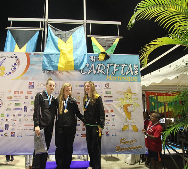 15-17 girl 200 metre breaststroke podium.PNG