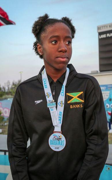 Gabrianna Banks 50 free Bronze