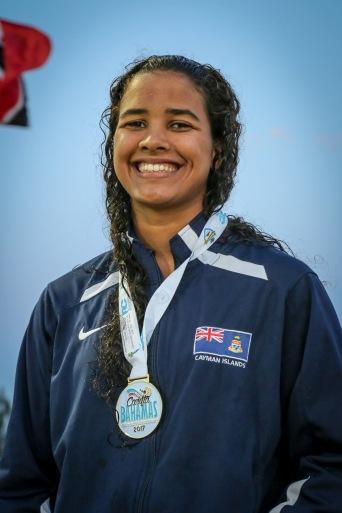 Alison Jackson Gold medal CARIFTA 2017